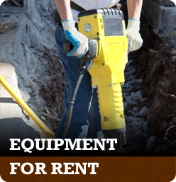 Equipment for rent in Cincinnati Ohio