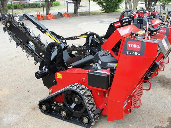 TRENCHER TRACK W B  20HP Rentals Cincinnati OH, Where to Rent