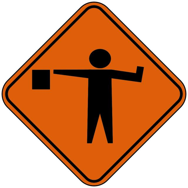 Sign Inch Flager Ahead Inch Symbol Rentals Cincinnati Oh Where To
