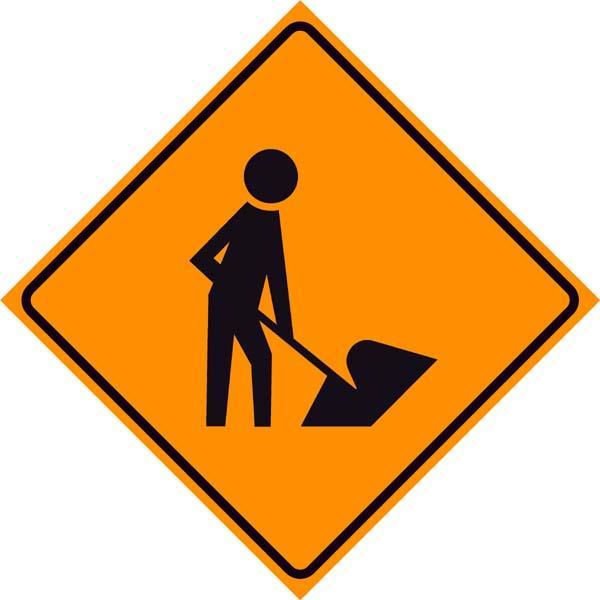 Sign Inch Men Working Inch Symbol Rentals Cincinnati Oh Where To