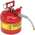 Rental store for CAN, 2.5 GAL SAFETY RED W SPOUT in Cincinnati OH